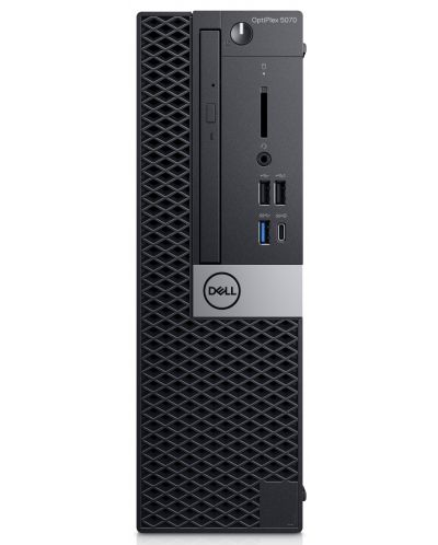 Настолен компютър Dell Optiplex - 5070 SFF, черен - 1