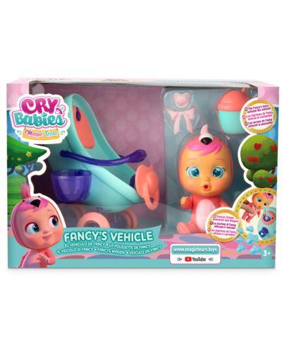 Комплект IMC Toys Cry Babies Magic Tears - Плачеща кукла Фенси с количка - 8