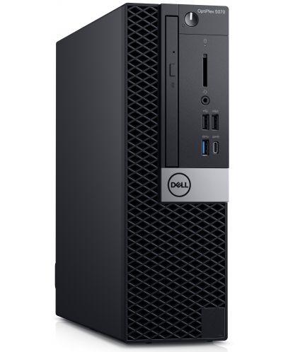 Настолен компютър Dell Optiplex - 5070 SFF, черен - 3