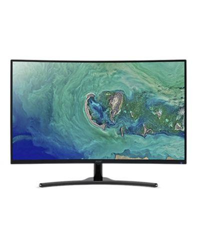 """Геймърски монитор Acer - ED322QRPbmiipx, 31.5"""", Curved, FreeSync, 4ms, черен - 1"""