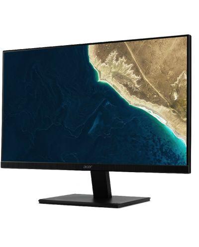 Монитор Acer V227Qbi - 21.5'', FHD,4ms, IPS, черен - 1