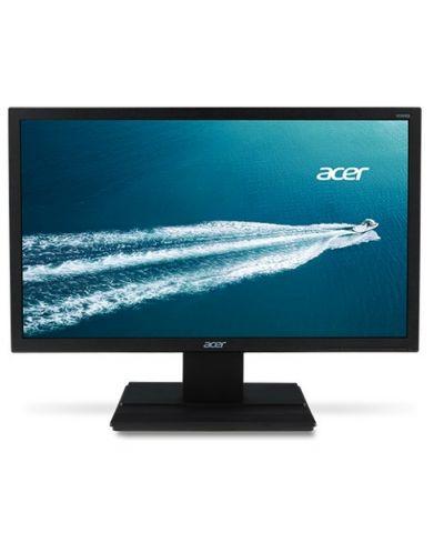 Монитор Acer - V246HQLbi, 23.6'',FHD, VA, 5ms, черен - 1