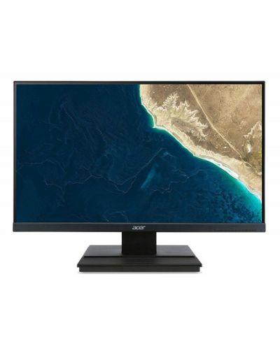 "Монитор Acer - V276HLCbid, 27"", FHD, VA, 5ms, черен - 1"