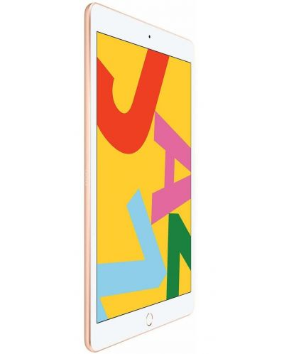 "Таблет Apple iPad 7 Cellular - 10.2"", златист - 2"