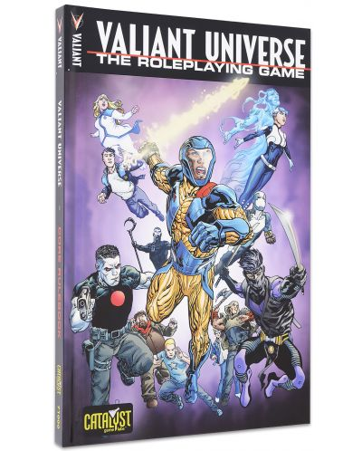 Ролева игра Valiant Universe - Core Book - 1