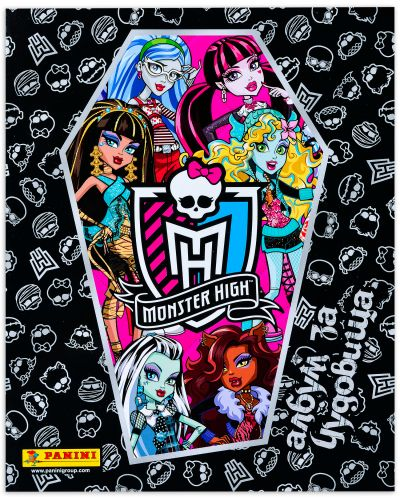 Албум със стикери Panini Monster High - 1
