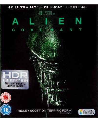 Alien: Covenant 4K (Blu Ray) - 1
