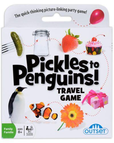 Настолна игра Outset Media - От краставички до пингвини, Travel Game - 2