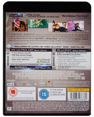 Kingsman: The Secret Service 4K (Blu Ray) - 2