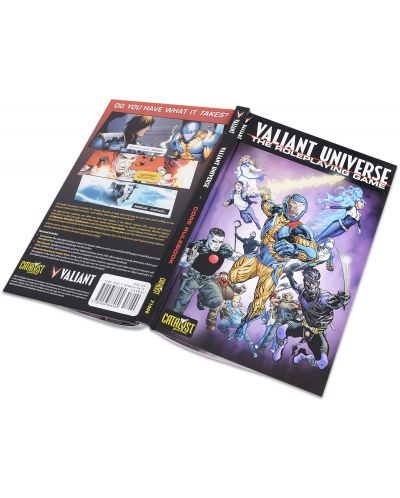 Ролева игра Valiant Universe - Core Book - 2