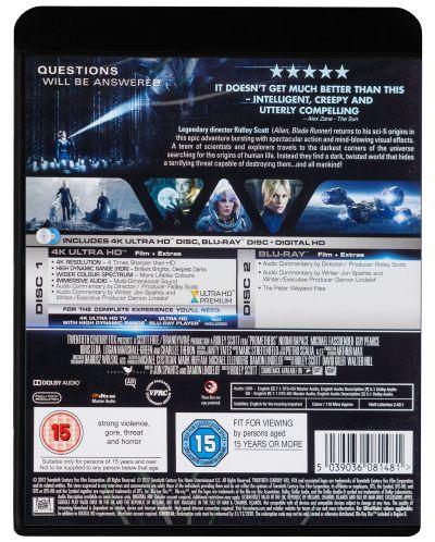Prometheus 4K (Blu Ray) - 2
