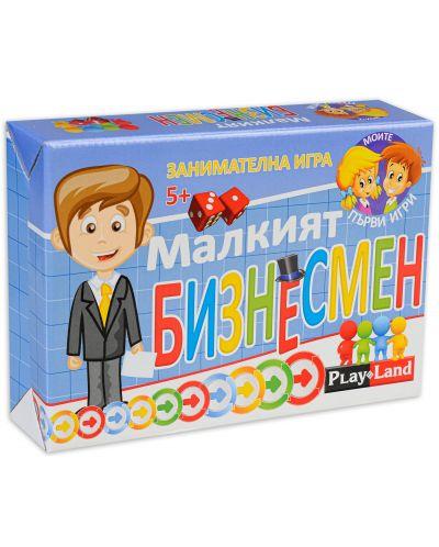 Детска настолна игра PlayLand - Малкият бизнесмен - 1
