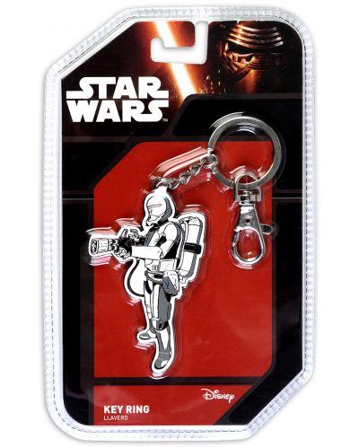 Метален ключодържател Star Wars: Episode VII - Flametrooper - 1
