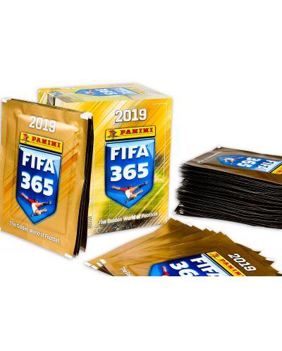 Стикери Panini FIFA 365 2019 - кутия с 50 пакета - 250 бр. стикери - 2