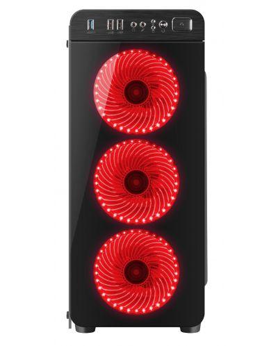 Кутия Genesis ATX - IRID 300 RED - 2