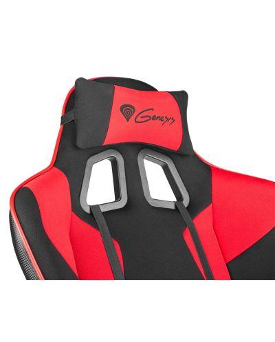 Гейминг стол Genesis - Nitro 770, черен/червен - 4