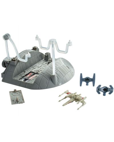Космическа станция Hot Wheels Star Wars: Rouge One - Trench Run Playset - 1