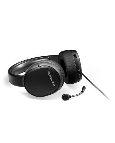 Гейминг слушалки SteelSeries - Arctis 1, черни - 2