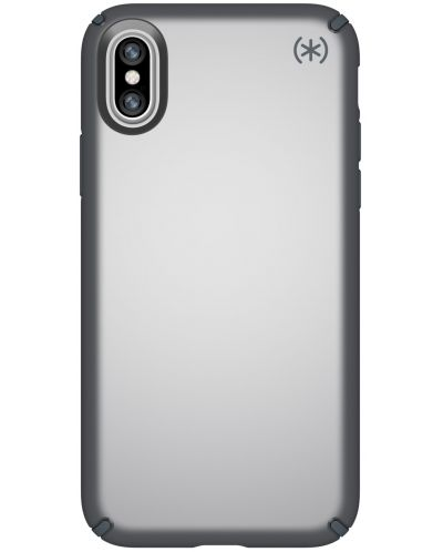 Калъф Speck Presidio Metallic - за iPhone X, сребрист - 1