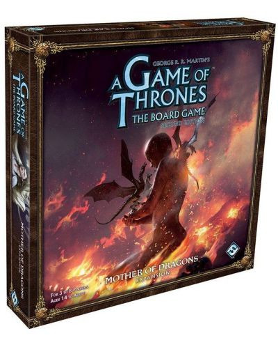 Допълнение към настолна игра A Game of Thrones: The Board Game - Mother of Dragons - 1