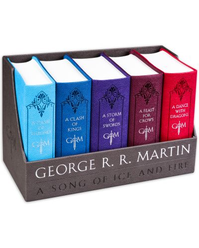 A Song of Ice and Fire: Leather-Cloth Box - 1