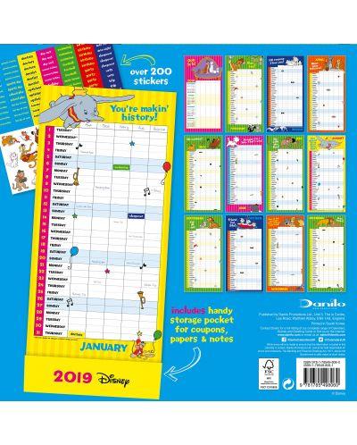 Стенен Календар Danilo 2019 - Disney Classic Moms Family - 4