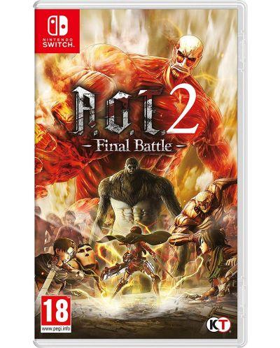 Attack on Titan 2: Final Battle (Nintendo Switch) - 1