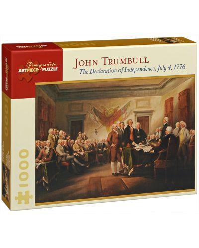 Пъзел Pomegranate от 1000 части -  Декларацията за независимост, Джон Трамбъл - 1