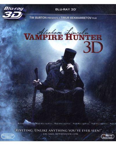 Ейбрахам Линкълн: Ловецът на вампири 3D (Blu-Ray) - 1