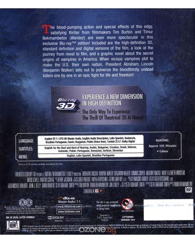 Ейбрахам Линкълн: Ловецът на вампири 3D (Blu-Ray) - 2