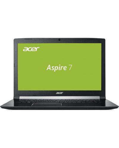 "Лаптоп Acer Aspire 7, A717-72G-76WH, Intel Core i7-8750H - 17.3"" FullHD - 1"