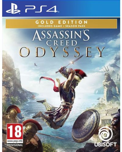 Assassin's Creed Odyssey Gold Edition (PS4) - 1