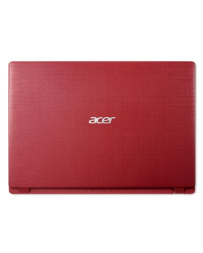 Лаптоп Acer Aspire 1 - A114-31-C6RC, червен - 4
