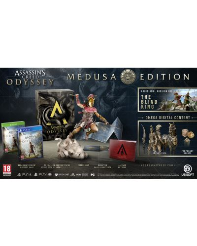 Assassin's Creed Odyssey Medusa Edition (PS4) - 3