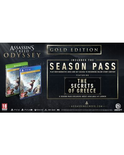 Assassin's Creed Odyssey Gold Edition (PS4) - 3
