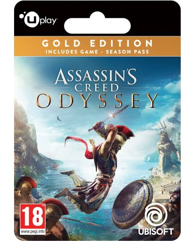 Assassin's Creed Odyssey Gold Edition (PC) - digital - 1