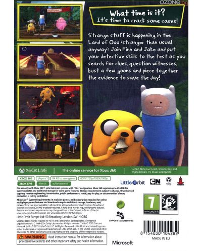 Adventure Time: Finn and Jake Investigations (Xbox 360) - 3