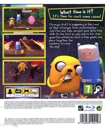 Adventure Time: Finn and Jake Investigations (PS3) - 3