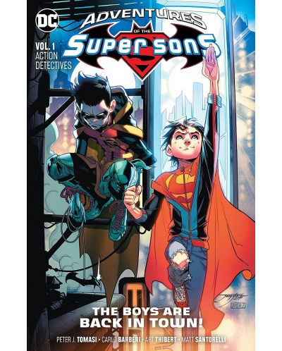 Adventures of the Super Sons Vol. 1: Action Detectives - 1