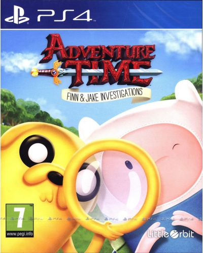 Adventure Time: Finn and Jake Investigations (PS4) - 1