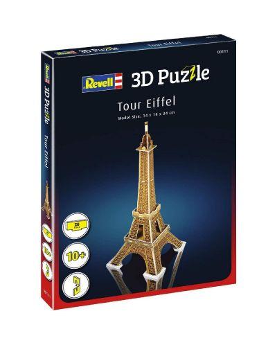 Мини 3D пъзел Revell - Айфеловата кула - 2