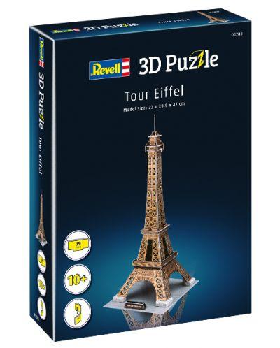 3D Пъзел Revell - Айфеловата кула - 2