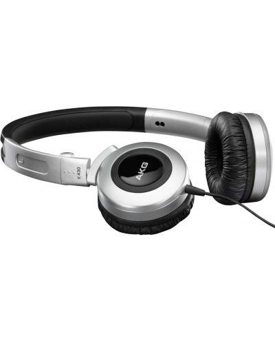 Слушалки AKG K430 - сребърни - 1