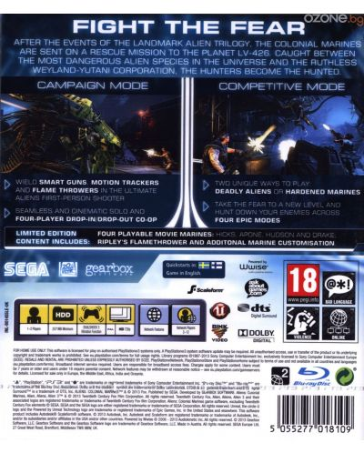 Aliens: Colonial Marines Limited Edition (PS3) - 4