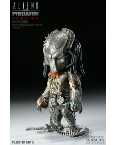 Aliens vs. Predator Requiem Super Deformed Vinyl Figure Predator 20 cm - 4