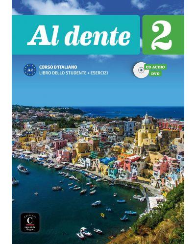Al dente 2 · Nivel A2 Libro del alumno + Cuaderno de ejercicios + CD + DVD - 1