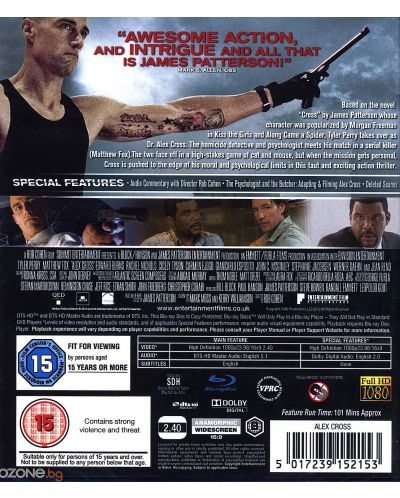 Alex Cross (Blu-Ray) - 3