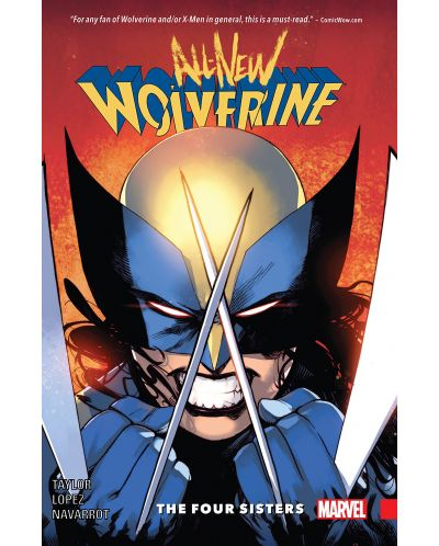 All-New Wolverine Vol. 1 The Four Sisters (комикс) - 1