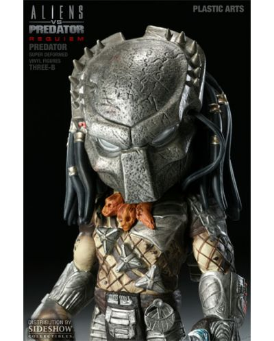 Aliens vs. Predator Requiem Super Deformed Vinyl Figure Predator 20 cm - 6