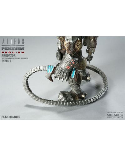 Aliens vs. Predator Requiem Super Deformed Vinyl Figure Predator 20 cm - 5